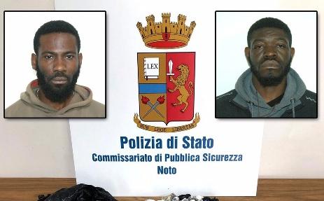 Due migranti arrestati a Noto per spaccio e altri nove espulsi dall'Italia