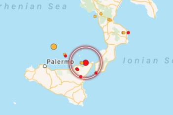 Scossa di terremoto di magnitudo 3. 4 al largo di Milazzo