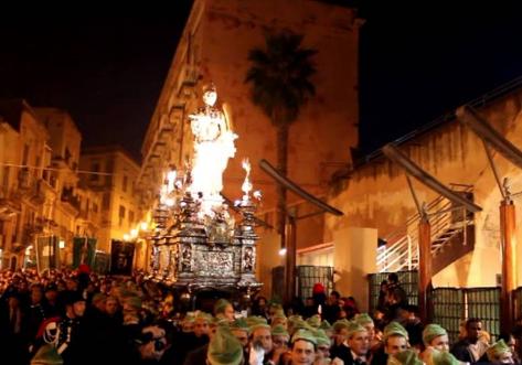 Siracusa, fuochi vietati per l'ottava della festa di Santa Lucia di maggio