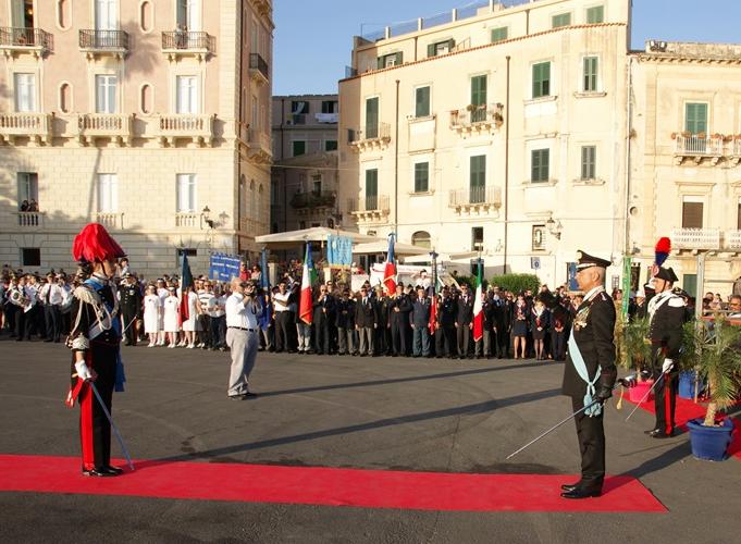 Siracusa, celebrati i 204 anni della fondazione carabinieri