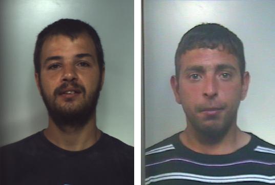 Spacciavano droga nella villa comunale di Ramacca, arrestati