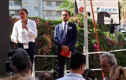 La strage Borsellino a Palermo, un minuto di silenzio in via D'Amelio