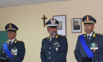 Antonioli, comandante della Finanza a Caltanissetta