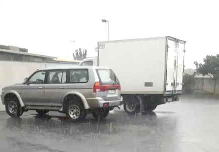 Temporale si abbatte su Rosolini, strade allagate (GUARDA IL VIDEO)