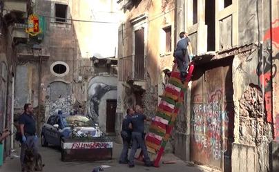 Catania, San Berillo a ferro e fuoco: sequestrata un chilo di droga