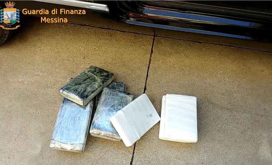 Messina, arrestato un corriere della droga con 11 chili di cocaina VIDEO
