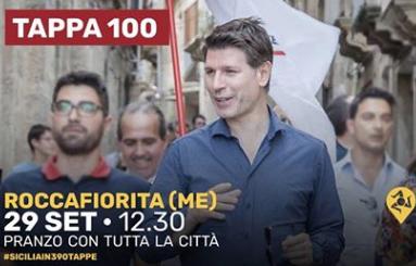 M5s, l'eurodeputato Corrao invita il paese di Roccafiorita a pranzo