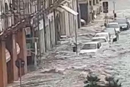 Il nubifragio su Catania, cominciata la conta dei danni: negozi allagati