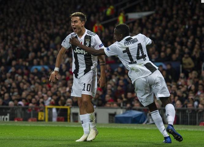 Champions, bene Juve e Roma: i bianconeri vincono in casa dell'United