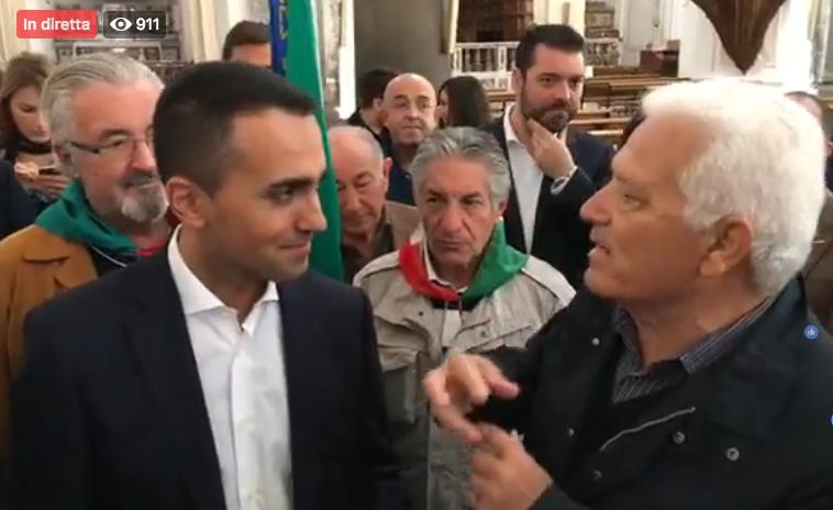 Di Maio a Paternò: lo Stato pronto a risarcire per terremoto e alluvione