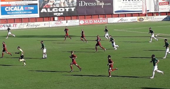 Coppa Italia, il Siracusa è fuori: a Trapani l'ennesima batosta ( 3 - 1)