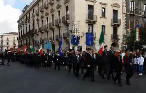 Il IV Novembre, Musumeci a Catania: ricordare i caduti è dovere di tutti