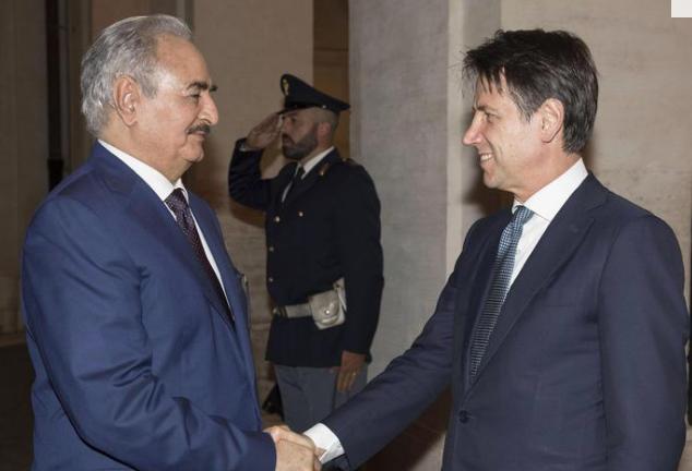Palermo per due giorni diventa la casa di tutti i libici, Haftar diserta la cena