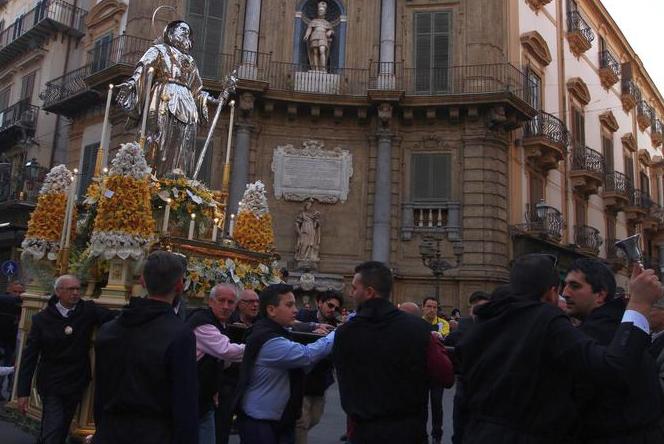 Feste religiose a Palermo in una mostra di foto allo Spasimo