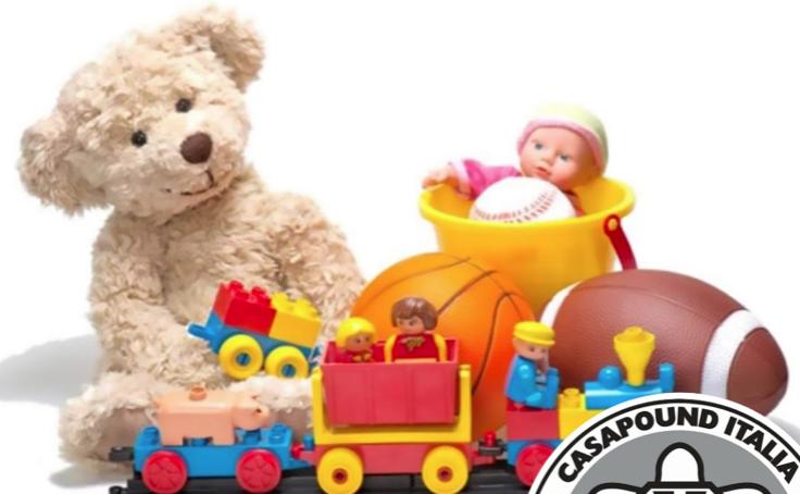 Siracusa, CasaPound avvia raccolta di giocattoli per i bambini poveri