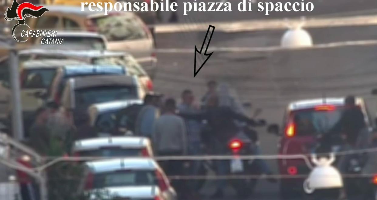 Traffico di droga all'ombra della mafia a Catania, trentasette arresti