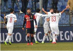 Il Milan apre il 2019 battendo il Genoa ( 0 - 2) allo stadio Ferraris