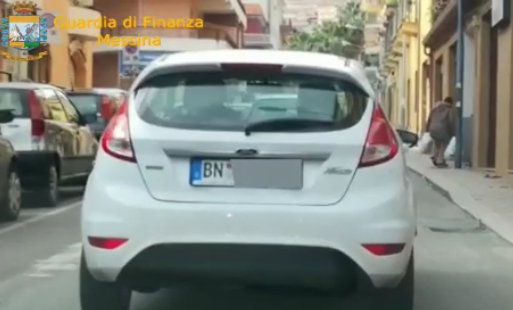Targhe estere, sei auto sequestrate a Patti (GUARDA IL VIDEO)