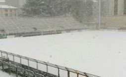 Rinviata la gara Potenza - Sicula Leonzio: Basilicata sotto la neve