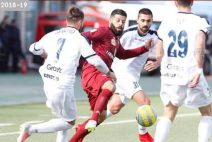 """La Cavese fra tremare il Trapani, al """"Provinciale"""" finisce in parità ( 2 - 2 )"""