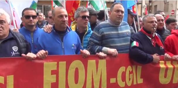 Blutec, manifestazione a Termini Imerese per chiedere riapertura trattativa al Mise