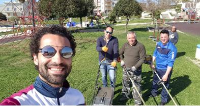 Rosolini, politici e volontari ripuliscono il Parco del Verde a Valle