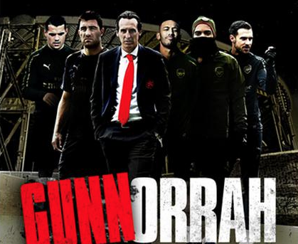 Calcio, l'Arsenal festeggia dopo avere battuto il Napoli ed evoca Gomorra