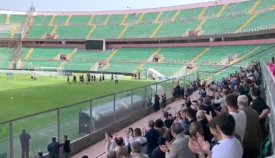 Rossi chiama, i tifosi rispondono: in 2500 per vedere l'allenamento del Palermo