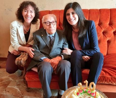 E' di Vittoria ma vive a Torino  il più longevo d'Italia:  ha 110 anni