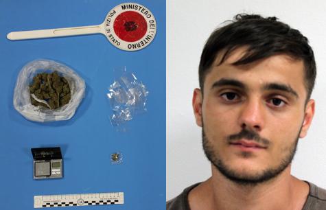 Augusta, gli trovano marijuana in casa: ragazzo agli arresti domiciliari