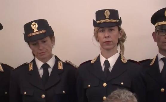 Presentati pure a Palermo i nuovi distintivi della polizia