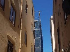 Operaio muore a Trapani cadendo dal tetto della chiesa di San Giuseppe
