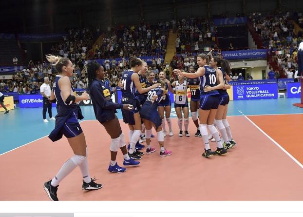 Volley, azzurre a Catania superstar battono l'Olanda e vanno a Tokio 2020