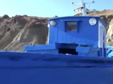 Sbarcati a Punta Bianca ad Agrigento una quarantina di migranti tunisini