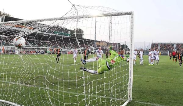Il Catania gioca bene ma il Venezia lo batte e passa il turno di Coppa Italia