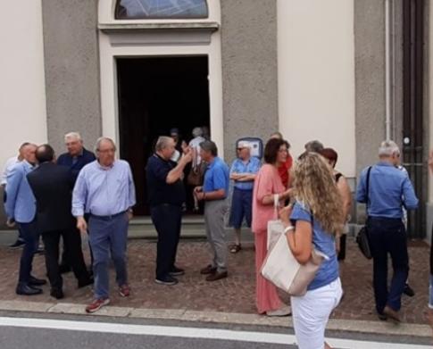 La salma di Gimondi arrivata a Bergamo, domani i funerali in diretta tv su Rai sport