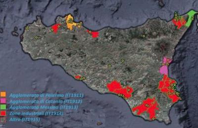 Monitorata l'aria in Sicilia, maglia nera Priolo e la zona di Siracusa nord