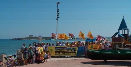 """Manifestazione di Legambiente: """"No a resort nell'isola di Capo Passero"""""""