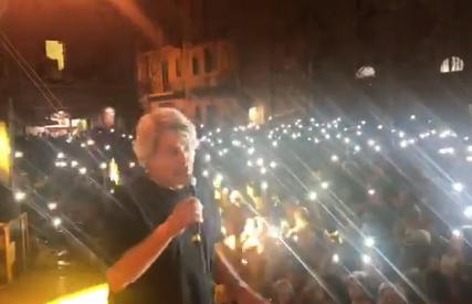 Festa dell'Addolorata, Fausto Leali porta migliaia di persone a Palazzolo (VIDEO)