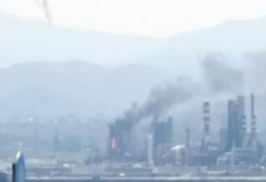Incendio nel reparto 'Lc finer' alla Raffineria di Milazzo: fuoco domato