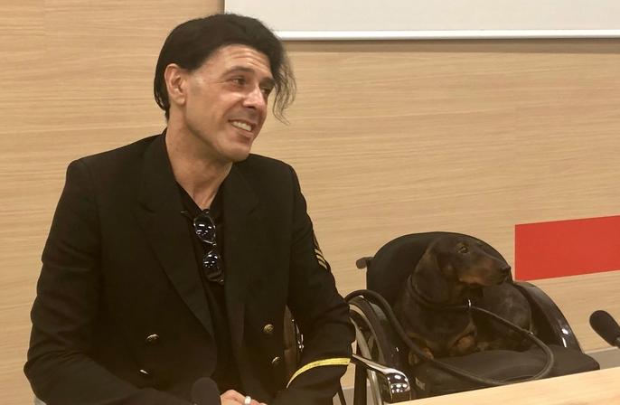 Bosso incontra il pubblico a Bari alla Fiera del Levante: non posso più suonare