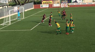 Eccellenza, il Città di Rosolini debutta con 3 punti: un gol per tempo all'Enna