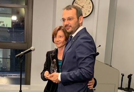 Giornalismo,  Paolo Borrometi premiato a New York col 'Peter Mackler'