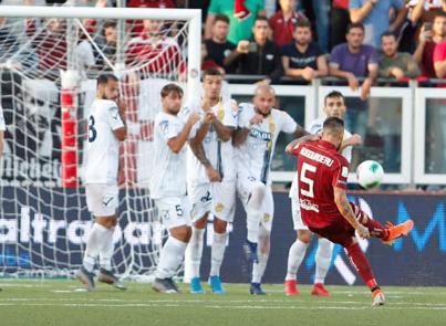 Il Trapani perde al 'Provinciale' in rimonta: Juve Stabia super nel secondo tempo