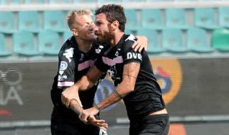 Il Palermo fa un allenamento con la Cittanovese: 4 gol e doppietta di Ricciardo