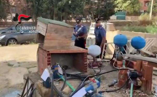 Nè acqua, nè luce mai pagate per sette anni, 24 arresti a Licata