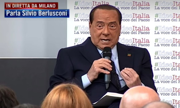 """Berlusconi spara a zero contro il governo: """"Il 19 ottobre sarò anch'io in piazza a Roma"""""""