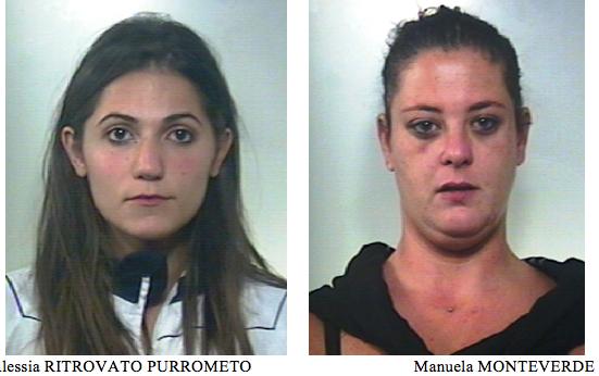 Caltagirone, 2  ragazze come 'Thelma e Louise': arrestate per una rapina
