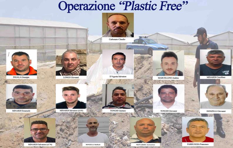 Le mani della 'Stidda' sul riciclo della plastica: 15 arresti a Vittoria, 10 in carcere