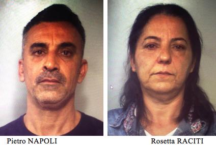 Conviventi arrestati a Zia Lisa a Catania con un chilo e mezzo di cocaina